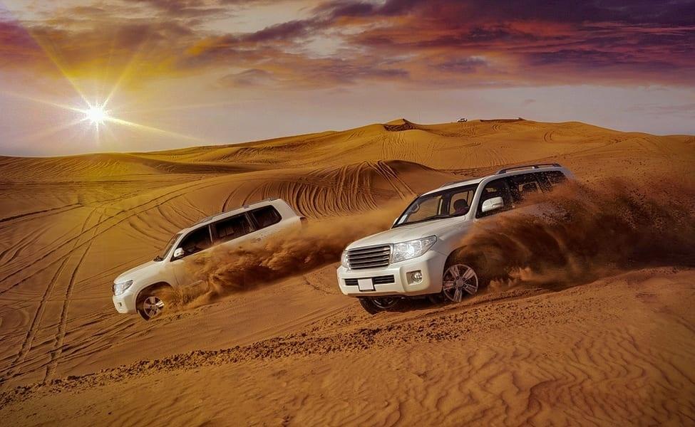 A Dune Bashing Experience in Desert Safari Dubai