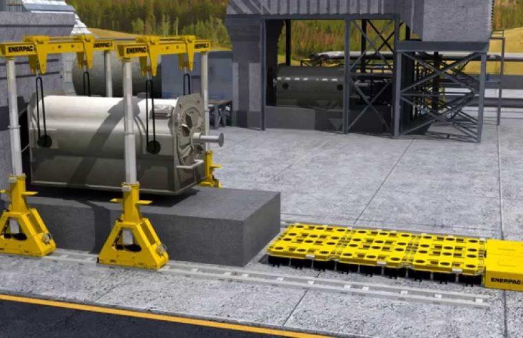 Hydraulic Gantry Lift Systems for heavy lifting
