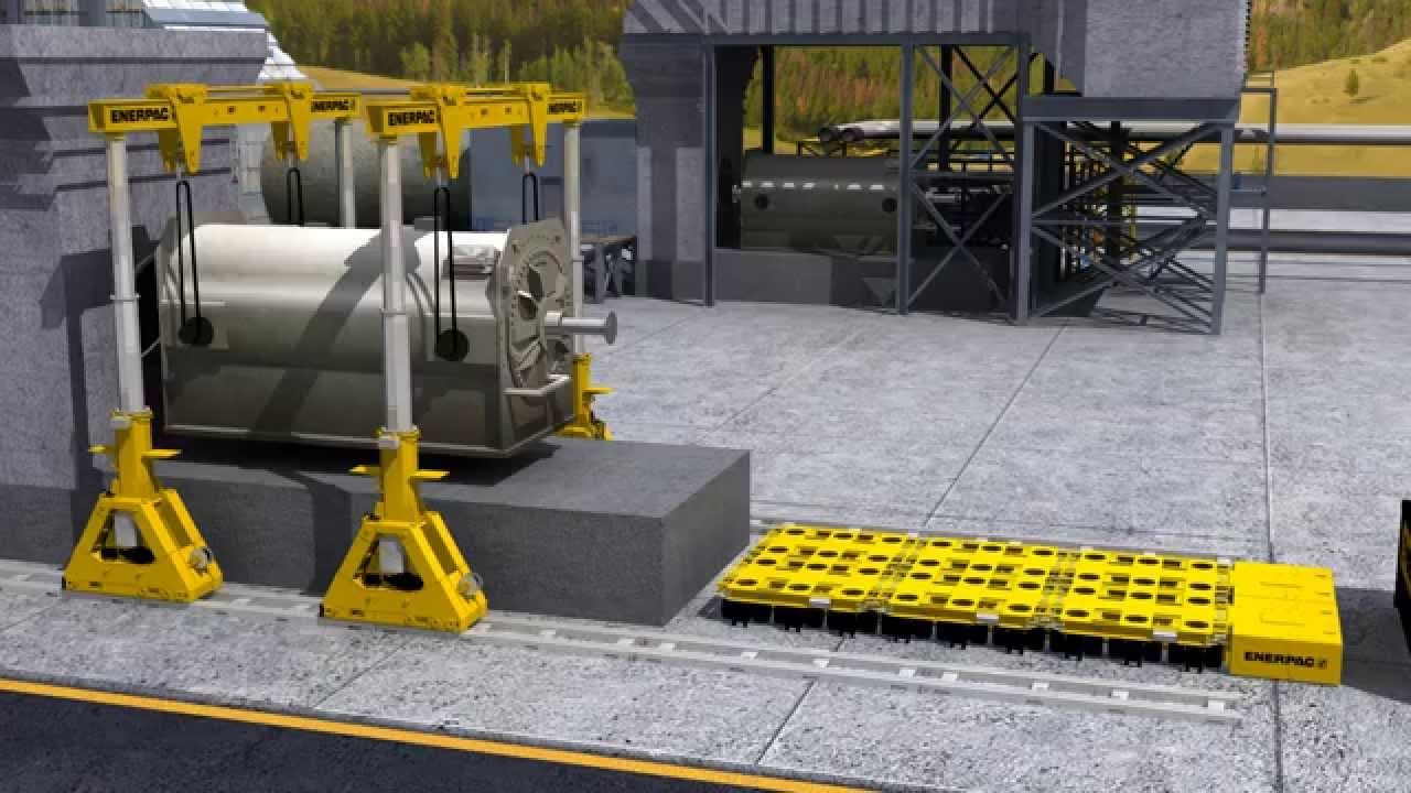 Hydraulic Gantry Lift Systems for heavy lifting