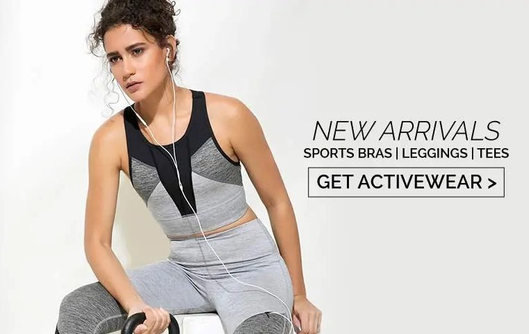 Sportswear now included in day to day clothing selection