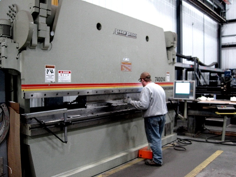 What is a press brake?