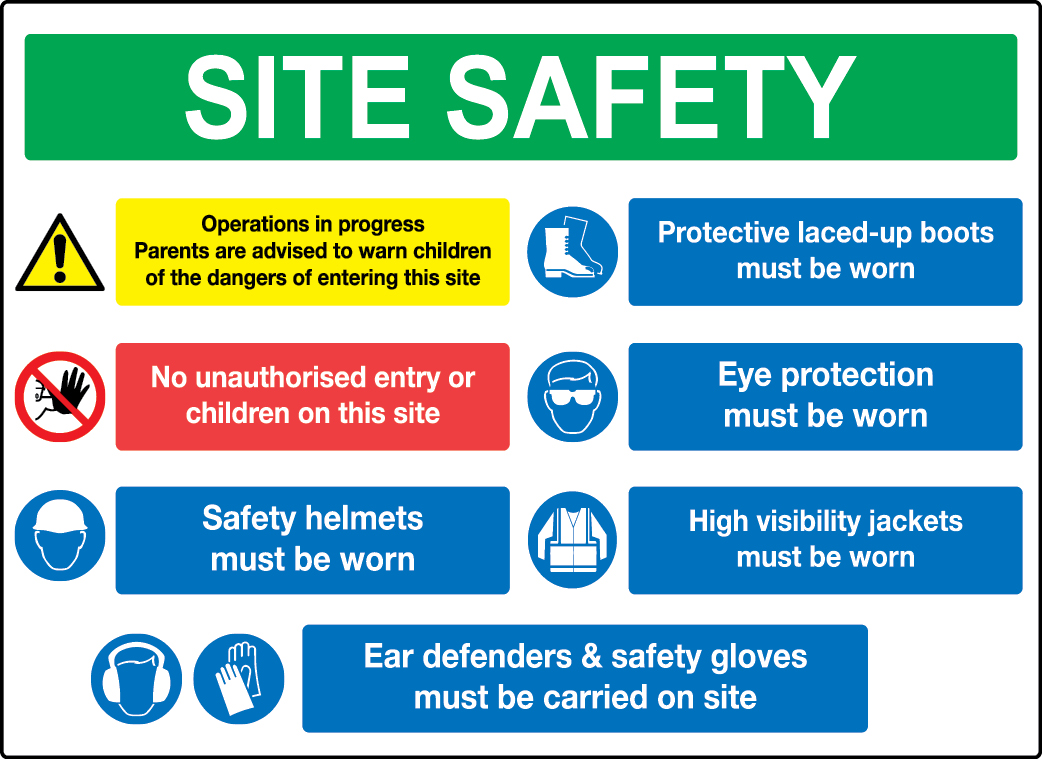 Construction Site Signage Requirements in UK