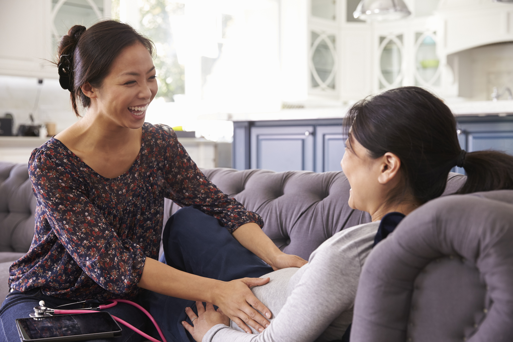 How a doula does certified help professionally in child birth?