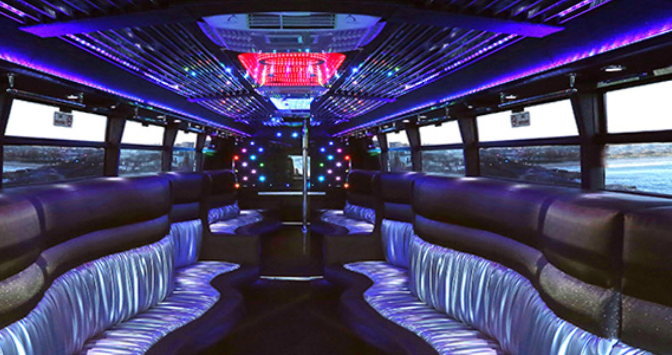 Hire a party bus to get an out of the box experience