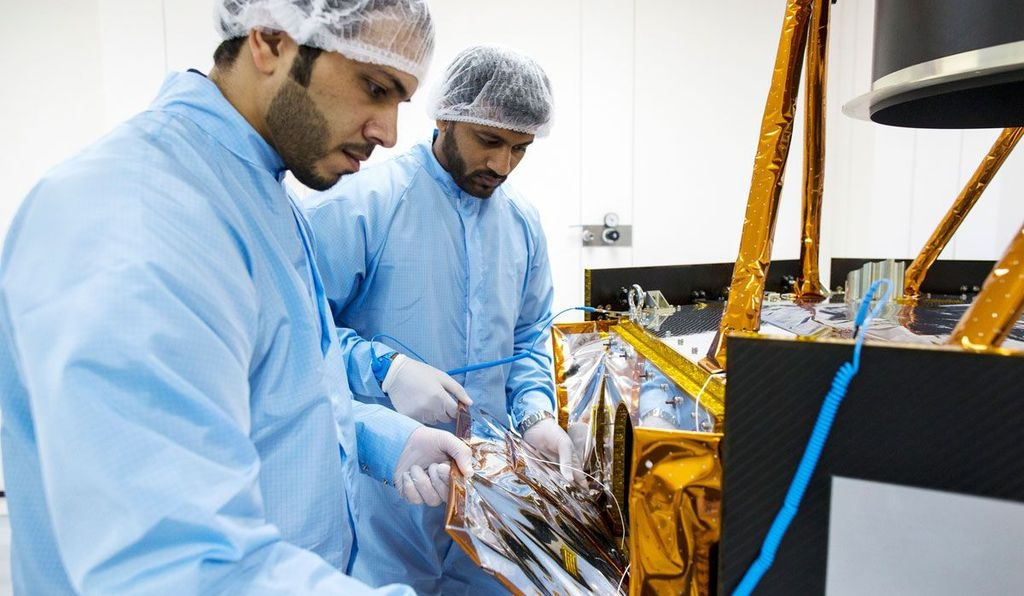 Sheikh Saud Puts the Spotlight on the UAE Space Program