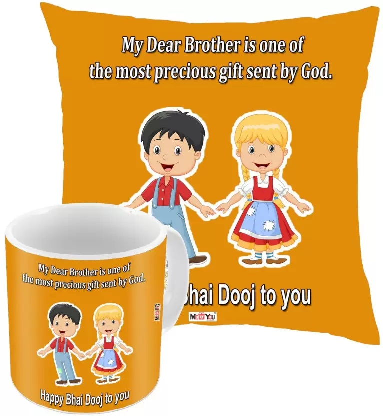 7 Bhai Dooj Gifts For Your Dear Brother That Will Take Him Back To Childhood