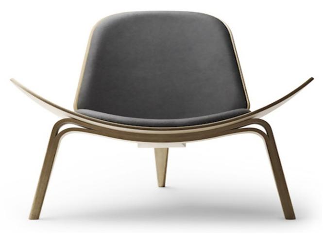 Danish Modern Shell Chair For A Modern Home