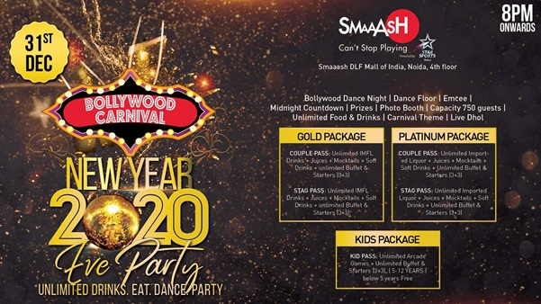 New Year Party in Delhi