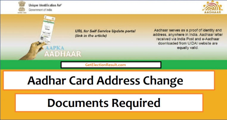 Valid Documents Required For Aadhar Cards