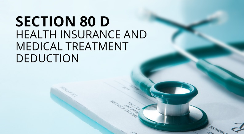 Who Receives the Health Insurance Tax Benefit Under Section 80D?