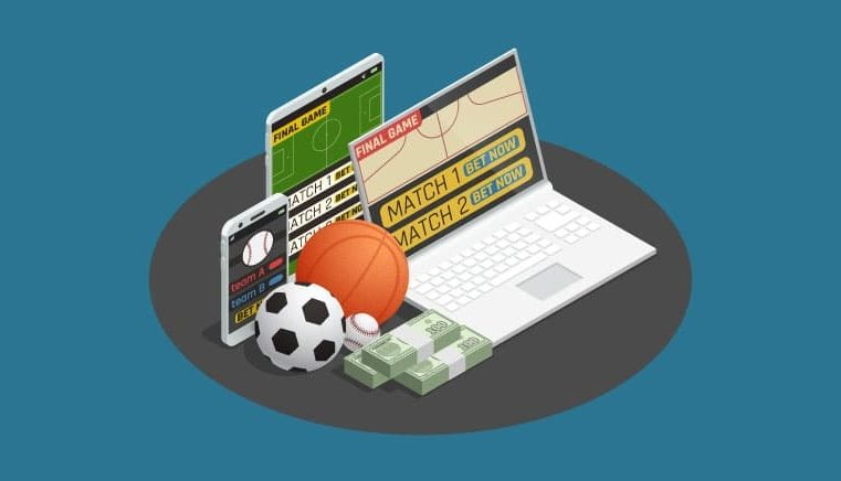 Online sports betting with vegas