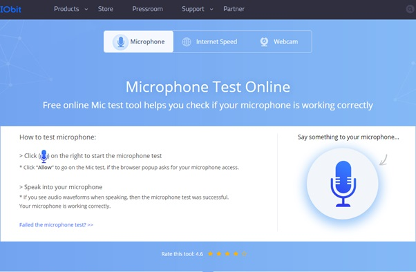 Helpful information to test  Mic and Webcam Online