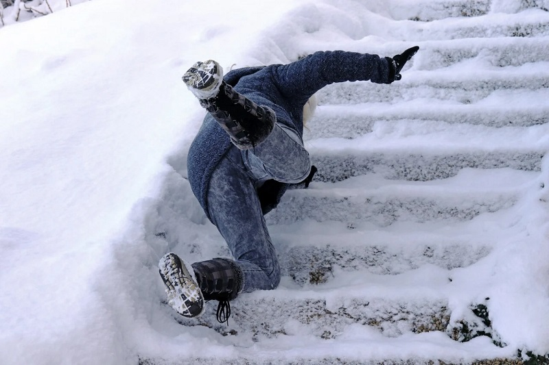 What should you do after a slip and fall accident in New York?
