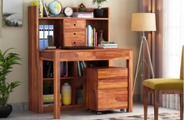 Best Study Tables with Bookshelf Designs for Kids