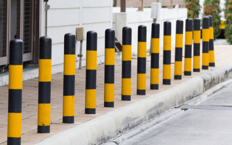 The Difference Between Permanent and Removable Bollards