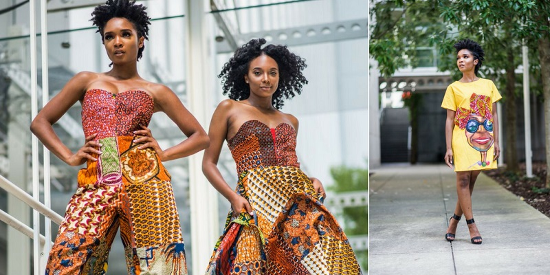 African clothes are really beautiful and worth your attention!
