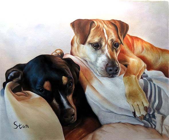 Best Realistic Pet Painting