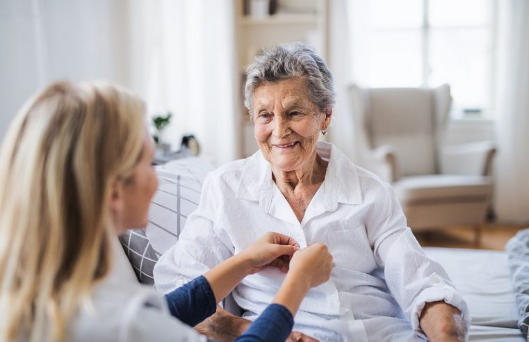 Help at the Home for the Elderly