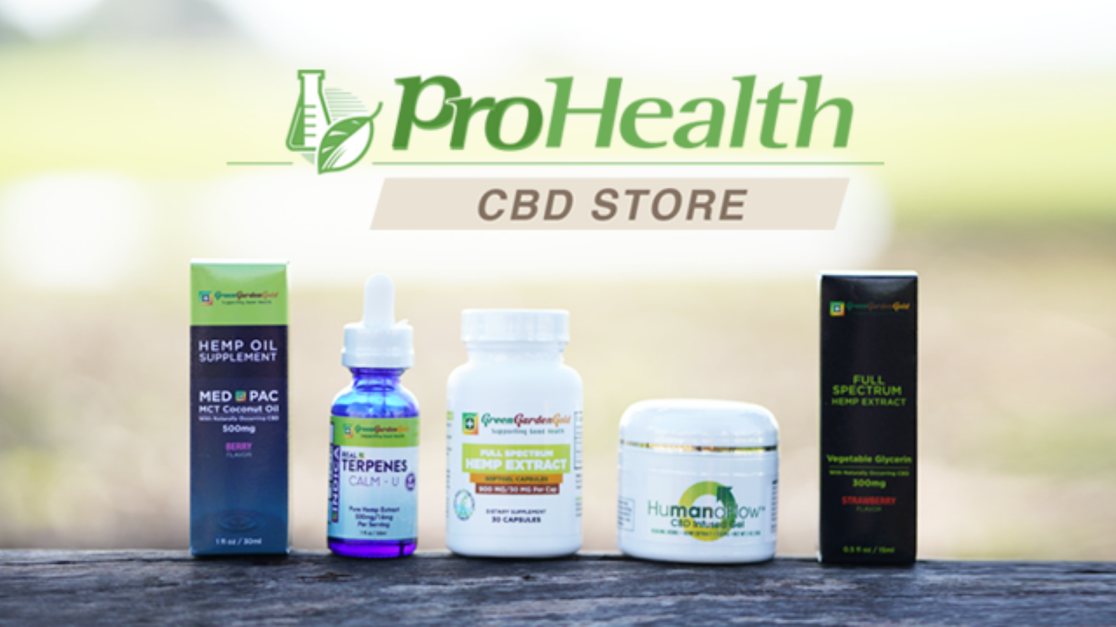 Top 3 CBD Products For Your Health