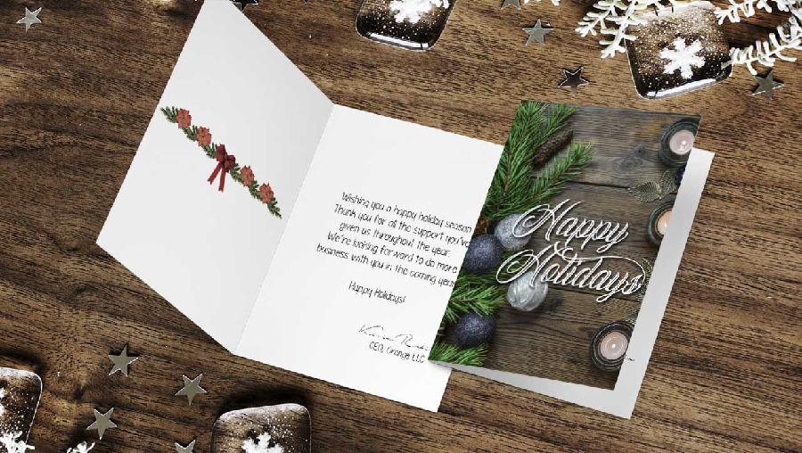 Tips to Help You Customize the Best Seasons Greeting Cards
