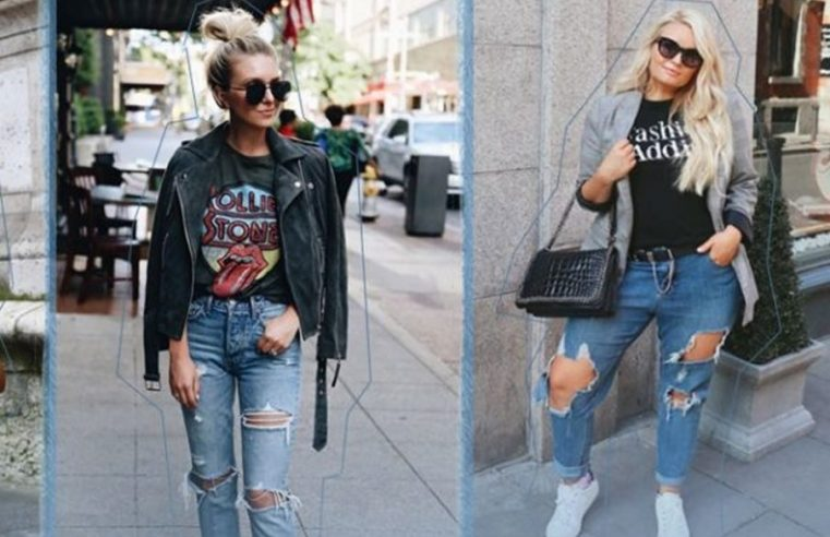 What to Wear with Ripped Jeans and Be a Cool Chic