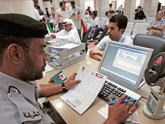 Change UAE visa inside country without exit