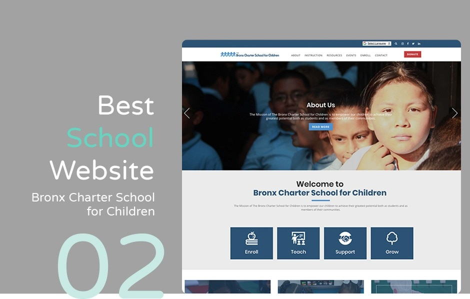 Tips to consider for a perfect school website design