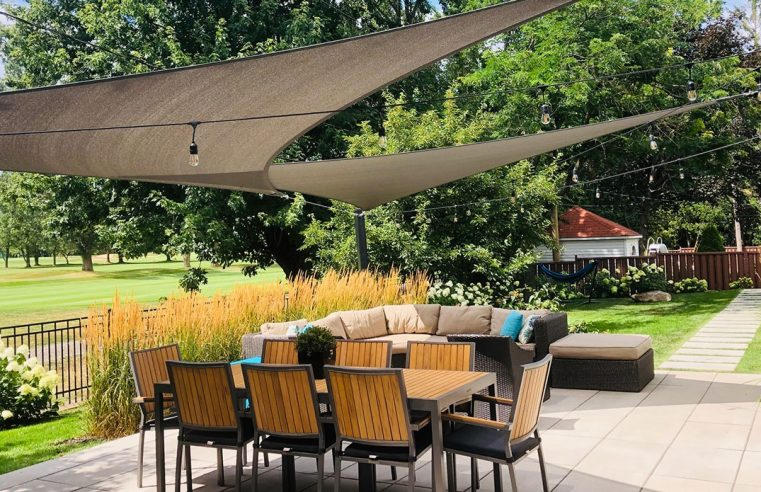 What makes shade sail a popular alternative of construction?