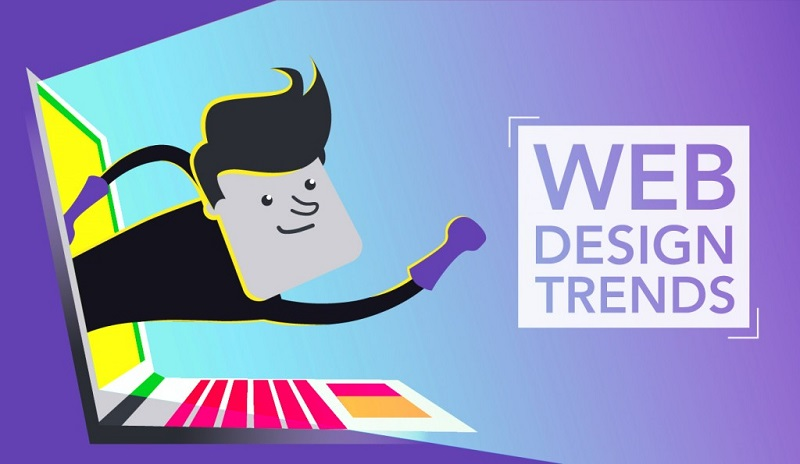Web design trends 2021 that you will find in Bangkok studios