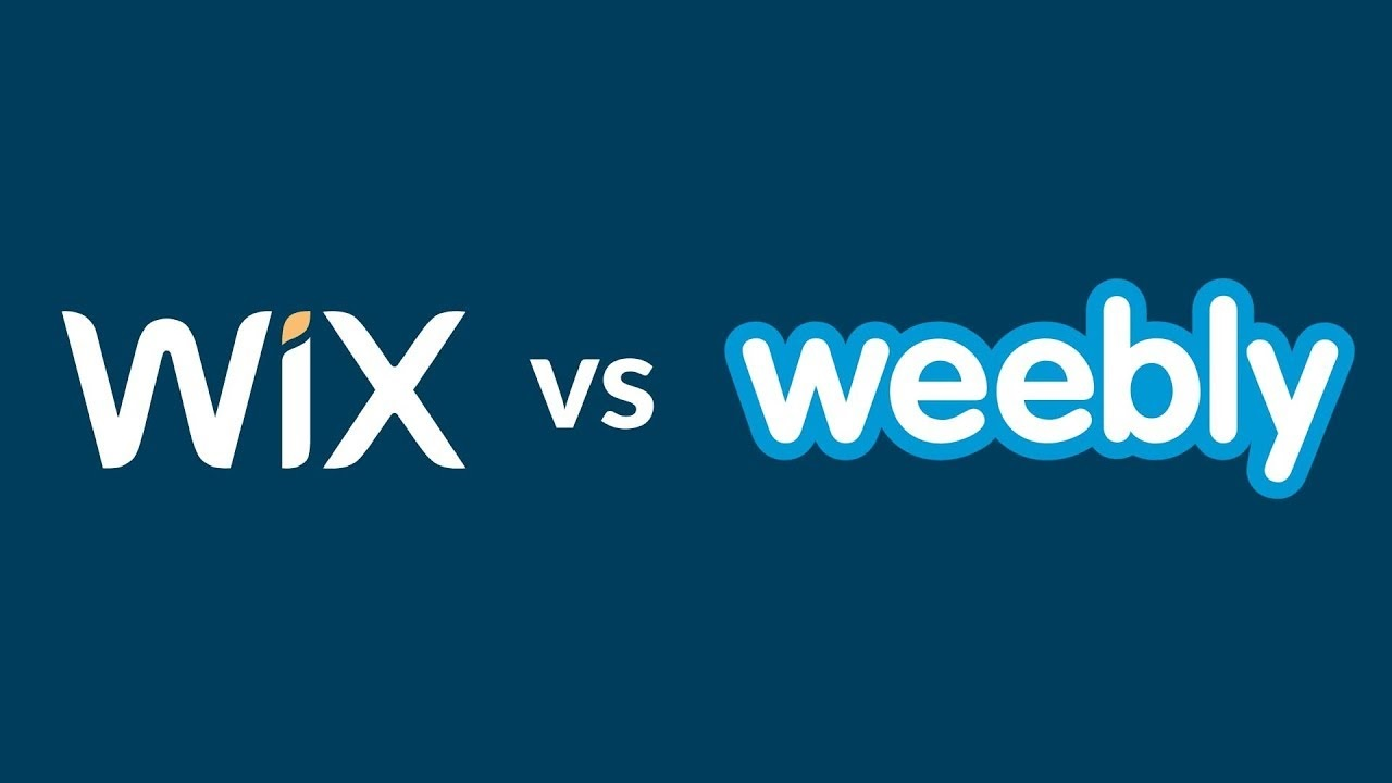 A Short Comparison on the Website Builders Wix&Weebly