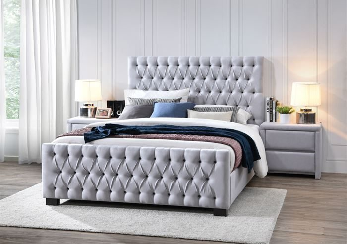 What is the size of the queen size bed frame?