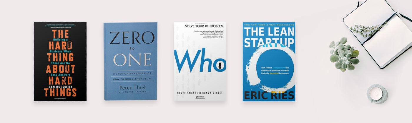 Find the best startup books for Doers that would keep you going!