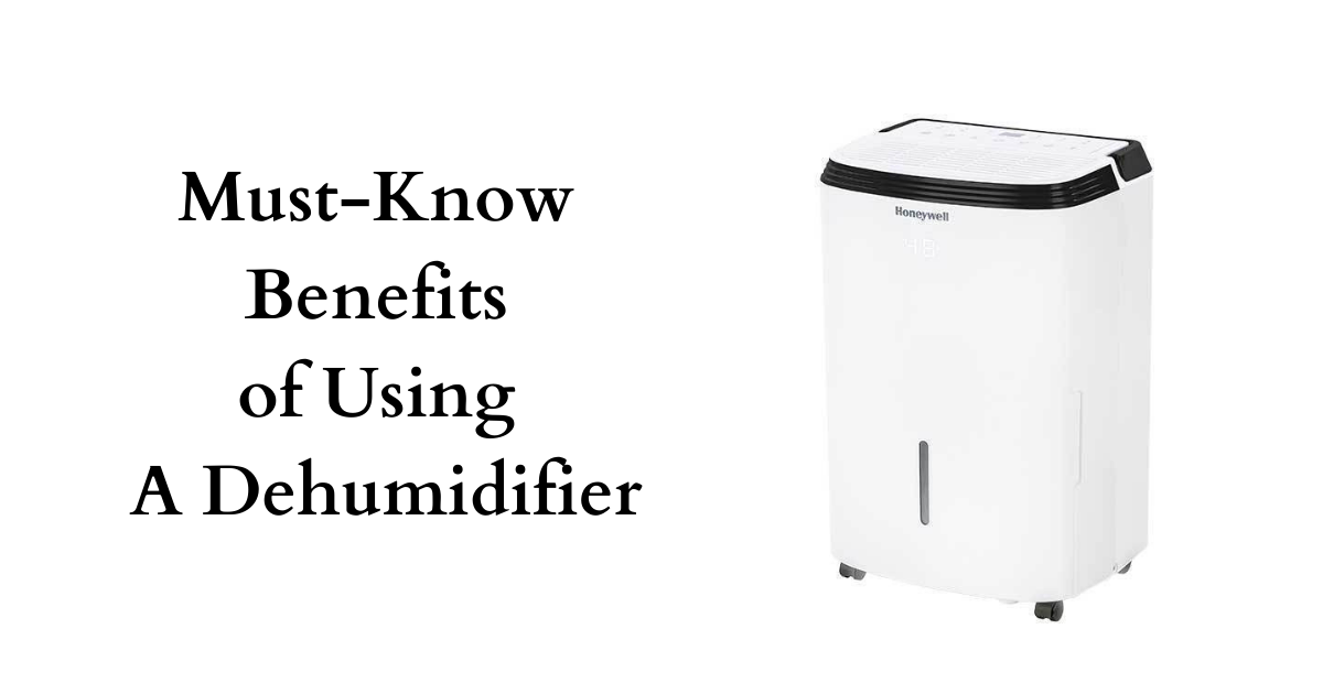 Must-Know Benefits of Using A Dehumidifier