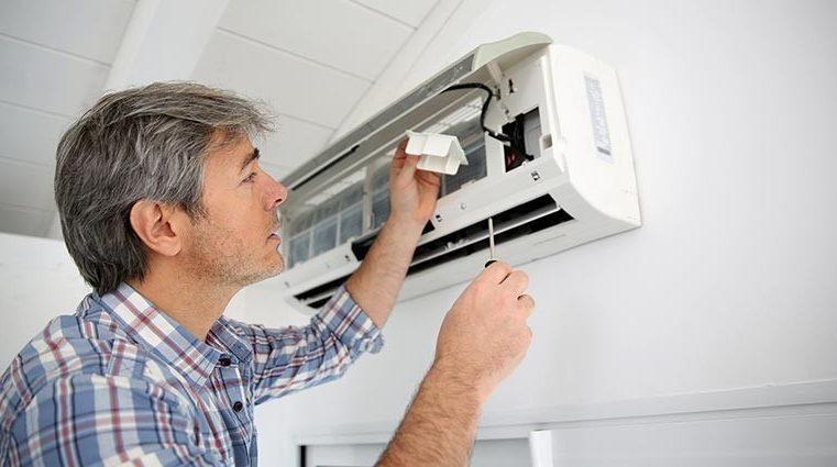 Methods for cleaning and maintenance of air conditioners