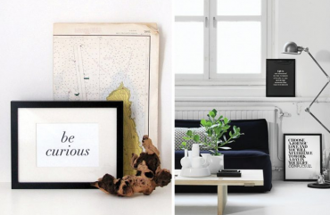 Framing Your Favourite Quote