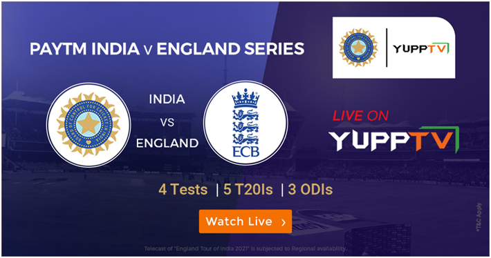 Paytm India vs England 2nd Test: Live Streaming Details & Updates