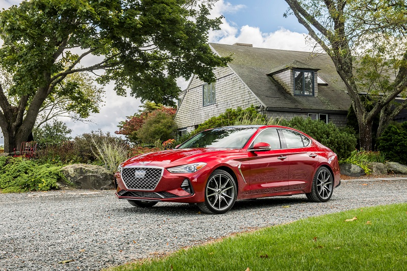 How Genesis Makes its Luxury Statement in its 2021 G70 Models