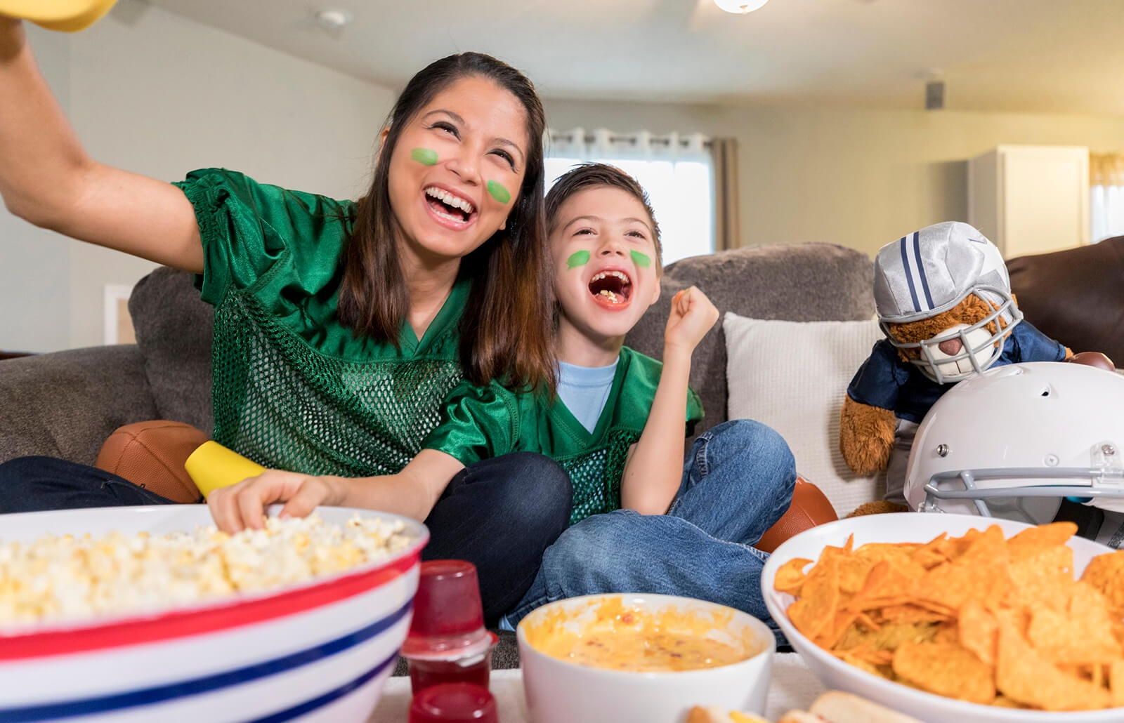 Family Fun During the Super Bowl