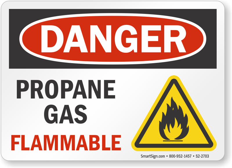 What are the dangers of propane gas?