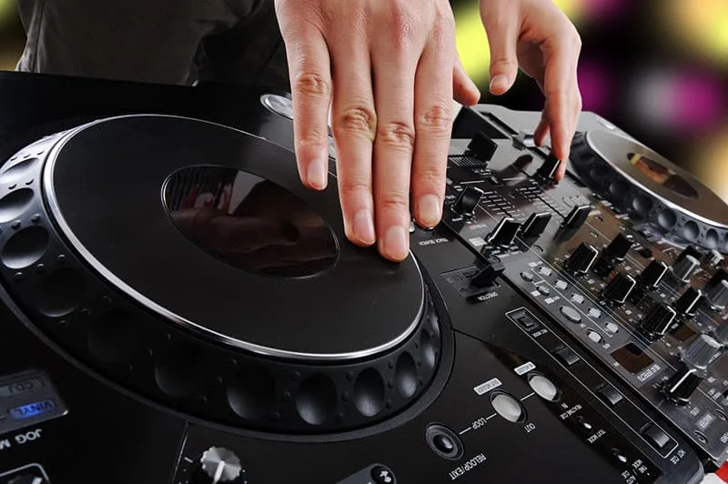 What do DJs need for their music?