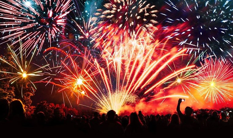 Who first invented fireworks?