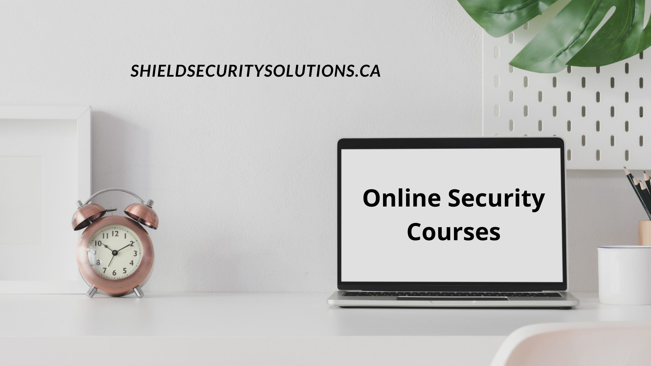 Online Security Courses – A Perfect Alternative For Those Who Want To Be Security Guards