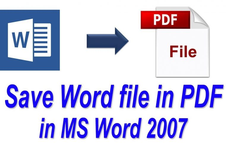 How to easily convert any document into PDF