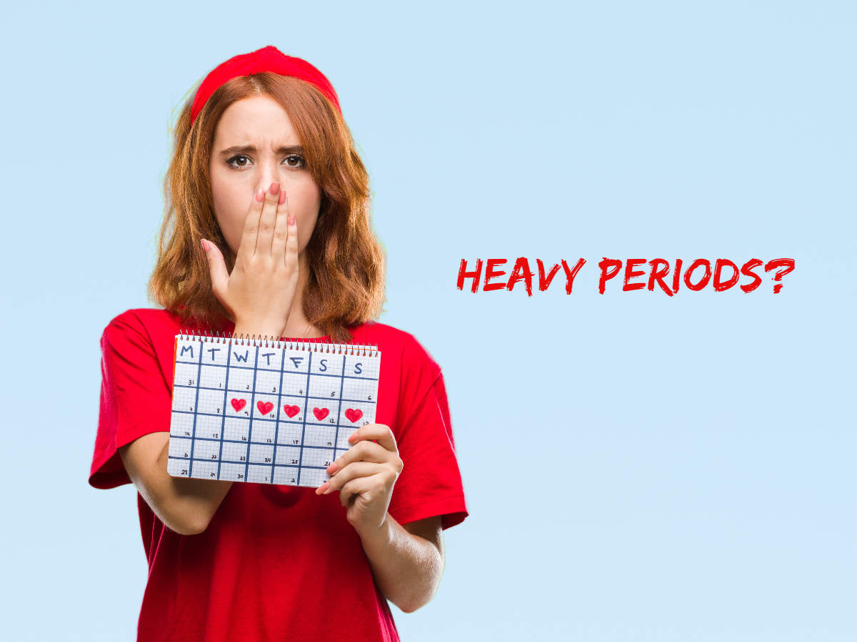 Here are six Possible Reasons for Heavy Periods