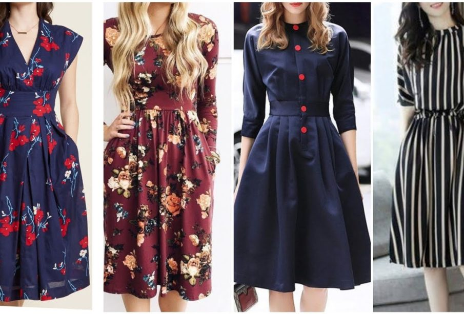 Simple Tips to Style Yourself With a Simple Midi Dress