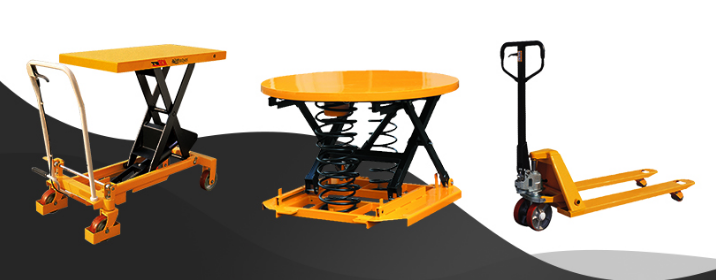 How transport industry uses material handling equipment?