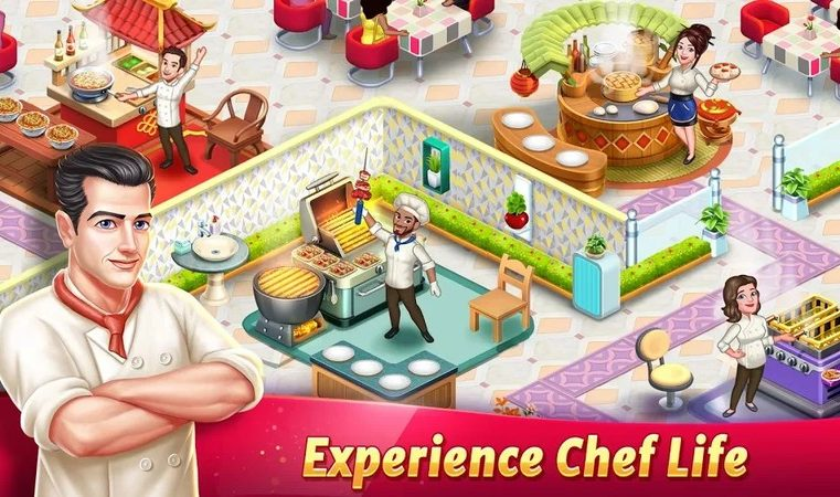 What if you got teleported in a restaurant business game?