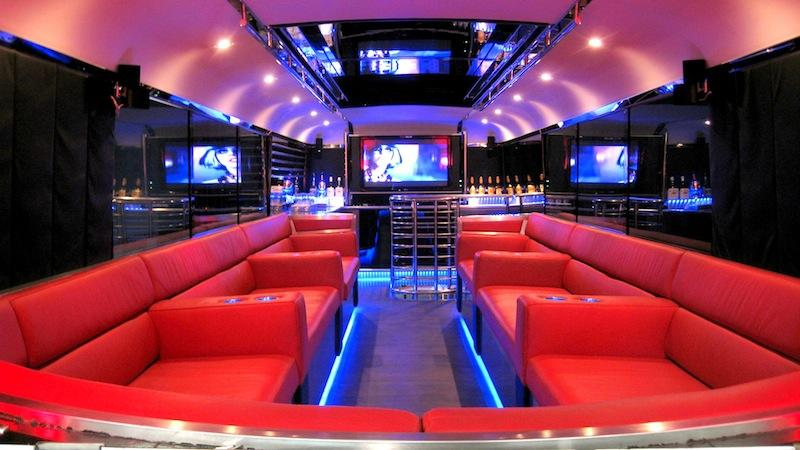 Destress in a Luxurious Party Bus