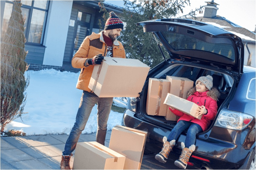 Best tips to not lose your cool while moving during winter