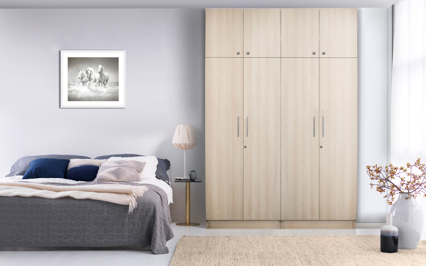 Give your room a completely new look with our stylish range of wardrobes
